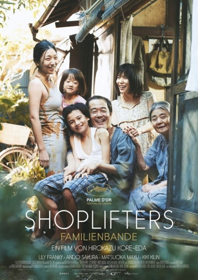 Film Poster Plakat Shoplifters