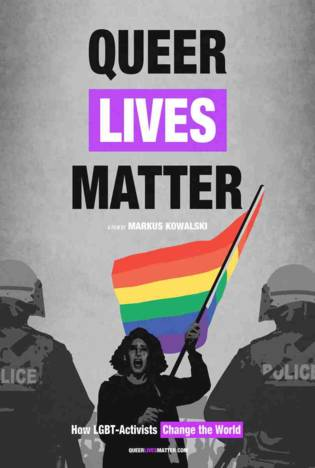 Film Poster Plakat - Queer Lives Matter