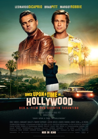 Film Poster Plakat Once Upon A Time...In Hollywood