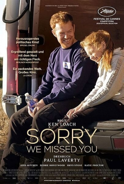 Film Poster Plakat - Sorry we missed you